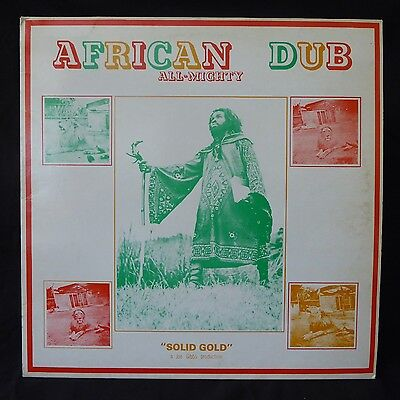JOE GIBBS African Dub No. 1 LIGHTNING UK Original LP REGGAE