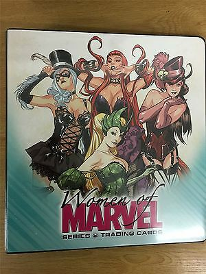 Marvel Women Of Marvel Series 2 Official Rittenhouse Binder
