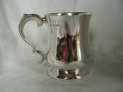 Pint Tankard Sterling Silver Sheffield 1931