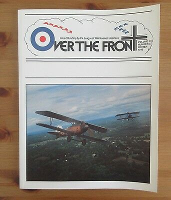 Over The Front Ww1 Aviation Historical Journal Winter 1995