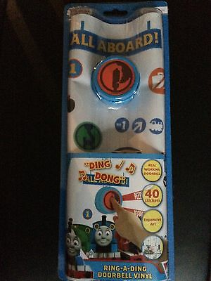 Thomas and Friends Ring A Ding Vinyl Doorbell NEW