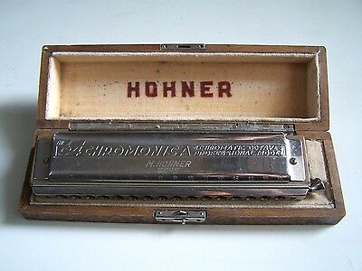 Ancien Harmonica - The 64 Chromonica, 4 Chromatic Octaves Professional - Hohner