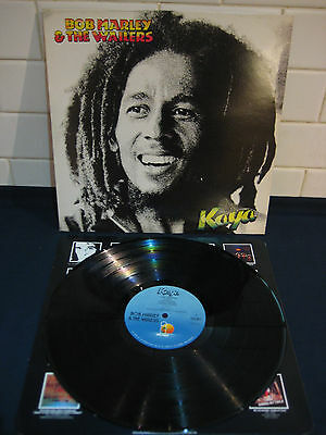 BOB MARLEY & THE WAILERS Kaya ISLAND LP EX+ Condition Orig 1978 Album Rare++++++
