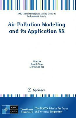 Air Pollution Modeling and its Application XX [Springer-Verlag GmbH]