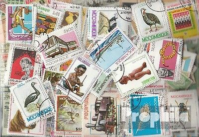 Mozambique 200 different stamps
