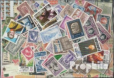 guatemala 100 different stamps