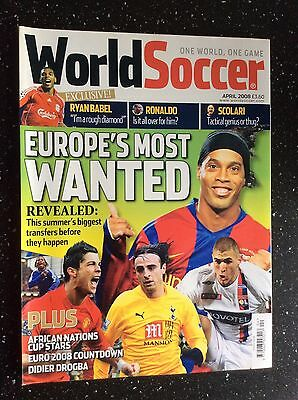 World Soccer Magazine April 2008