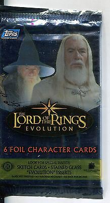 Lord Of The Rings Evolution Factory Sealed Hobby Packet / Pack