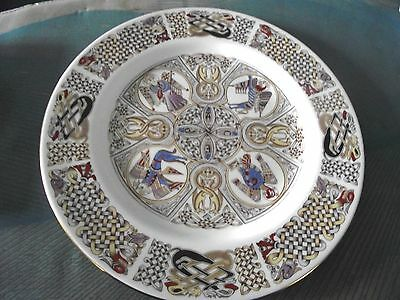 Spode - 'Iona Plate' - Book of Kells - Celtic design - Bone China - (Scotland)