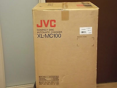 JVC XL-MC100 Compact Disc 100 disc auto changer CD Player NEW in Box