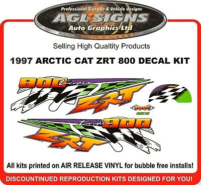 1995 Arctic Cat Zrt 800 Decal Kit , Reproductions Graphics