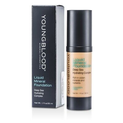 Youngblood Liquid Mineral Foundation - Golden Tan 30ml Womens Make Up
