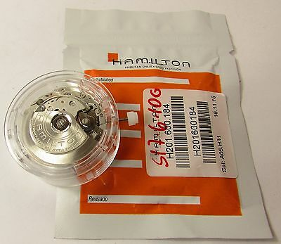 New Hamilton 7750 Cal: A05.h31 Auto Watch Movement For Breitling - 27 Jewels