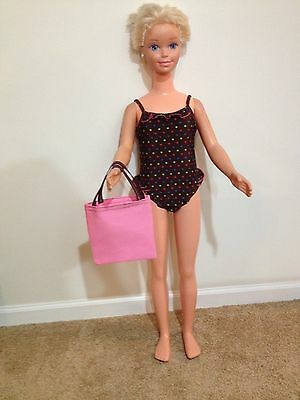 Bathing Suit For My Size Barbie (Or 36 Or 38 Inch) Doll With Tote Bag