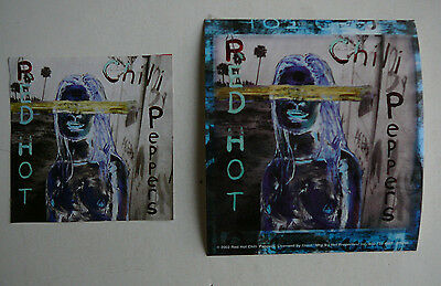 Red Hot Chili Peppers Large Cd  Promo Sticker & Magnet