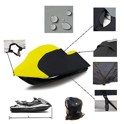 Sea Doo Jet Ski RXP -X 260 2012 -2015 Trailerable JetSki PWC Cover yellow/blk