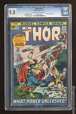 Thor (1962-1996 1st Series Journey Into Mystery) #193 CGC 9.8 1225530007