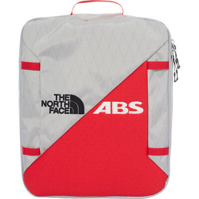 North Face Modulator Abs Mens Rucksack Snow Backpack - High Rise Grey Tnf Red