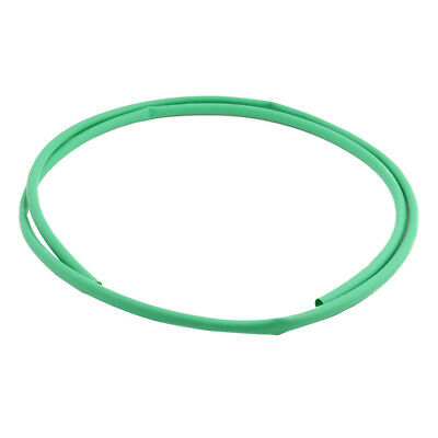 7.9mm Dia 3:1 Ratio Heat Shrink Tube Wire Wrap Cable Sleeve Tubing 2m Green