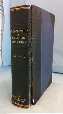 "Large Full Page Portraits-1934 ""Encyclopedia of American Biography"" Bankers"