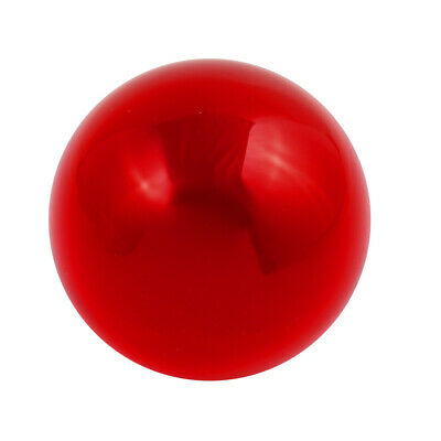 30mm Diameter Solid Round Acrylic Sphere Plexiglass Ball Ornament Ture Red
