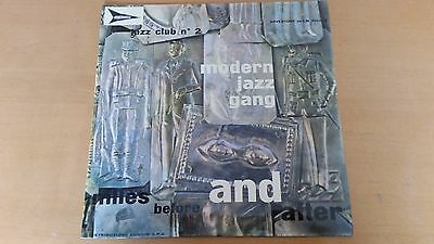 """Lp Modern Jazz Gang """"miles Before And After"""" Italy 1960 Av-Lm 300-003 Ex++/nm"""