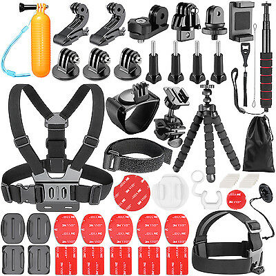 Neewer 54-In-1 Action Camera Accessory Kit for GoPro Hero Session/5 Hero 1 2 3