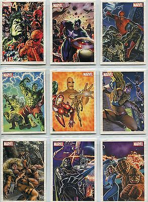 Marvel Universe 2011 Complete Marvel Originals Chase Card Set MO1-9