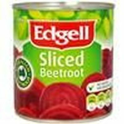 *Bulk Buy* Edgell Sliced Beetroot 3Kg (A10) can *Free postage on ALL items*