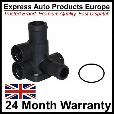 Water Coolant Flange + Seal for Cylinder Head VW 037121132B 037121133B