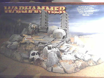 Warhammer Chaos Temple of Skulls Sigmar Frostgrave Oldhammer rare terrain
