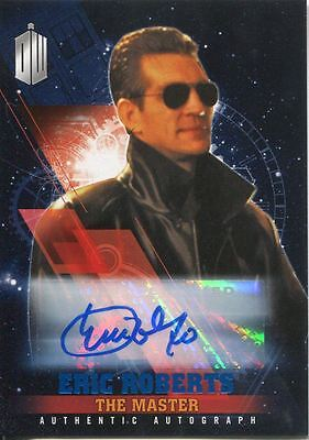 Doctor Who Timeless Blue Parallel [##/50] Autograph Card Eric Roberts
