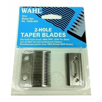 Wahl Super Taper Clipper Blades Fits All Wahl Large Size Professional Clippers
