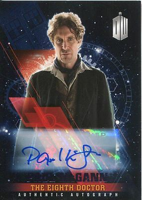 Doctor Who Timeless Purple Parallel [##/25] Autograph Card Paul McGann