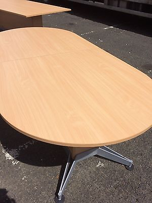 Conference Table Beech Vgc Poss Deliv