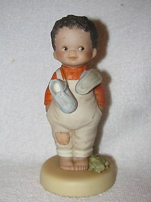 "Lucie Attwell Memories Of Yesterday ""You Do Make Me Happy"" Bisque Figurine"