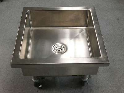 Stainless Steel Mobile Soak Sink   #5710A