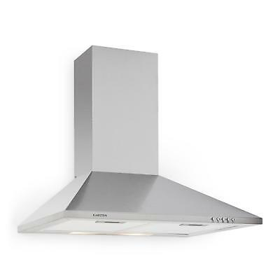 New 60Cm Air Extractor Fan Stainless Steel Oven Stove Cooker Hood 40W Lighting