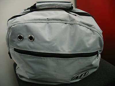 Deluxe Luxury Motorcycle Crash Helmet Bag Lined Protective + Shoulder Strap New