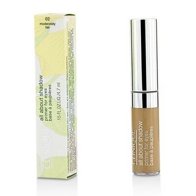 Clinique All About Shadow Primer For Eyes - # 02 Moderately Fair 4.7ml Womens