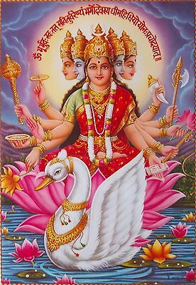 "Gayatri Maa - Hindu India Goddess - Big POSTER (20""x30"")"