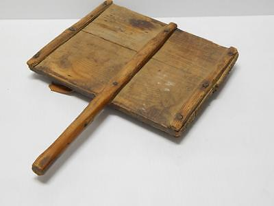 ANTIQUE VINTAGE NAVAJO INDIAN WOOL CARDER - 1860-early 1900s - museum quality