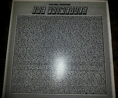 "The Primevals The Peel Sessions 12"" Ep Vinyl Sfps014 Strange Fruit Records"