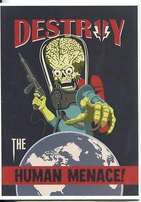 Mars Attacks Invasion Join The Fight Chase Card #1
