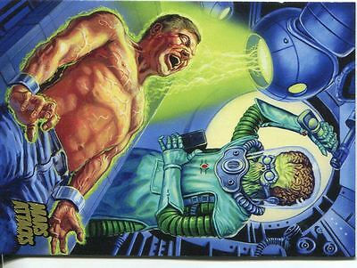 Mars Attacks Invasion Gold Stamped Parallel Base Card #54