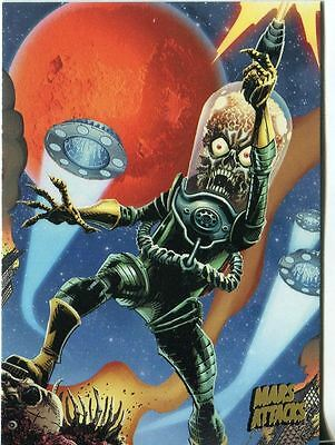 Mars Attacks Invasion Gold Stamped Parallel Base Card #59