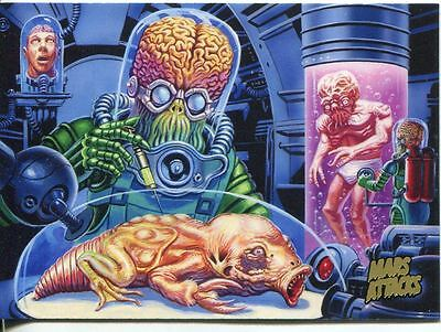 Mars Attacks Invasion Gold Stamped Parallel Base Card #53