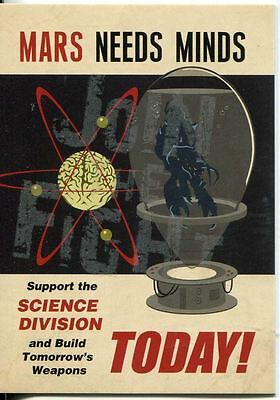 Mars Attacks Invasion Parallel Graffiti Embossed Join The Fight Chase Card #3