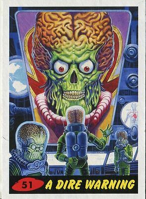 Mars Attacks Invasion Heritage Parallel Base Card #51