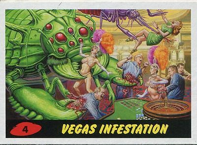 Mars Attacks Invasion Heritage Parallel Base Card #4